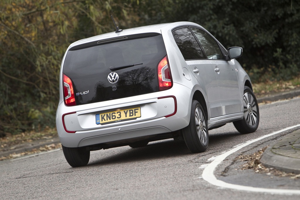 Volkswagen e-up! rear view